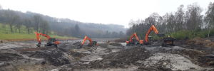Desilting and Water Restoration Works